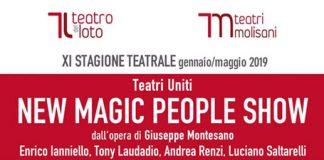 New Magic People Show al Teatro del Loto di Ferrazzano