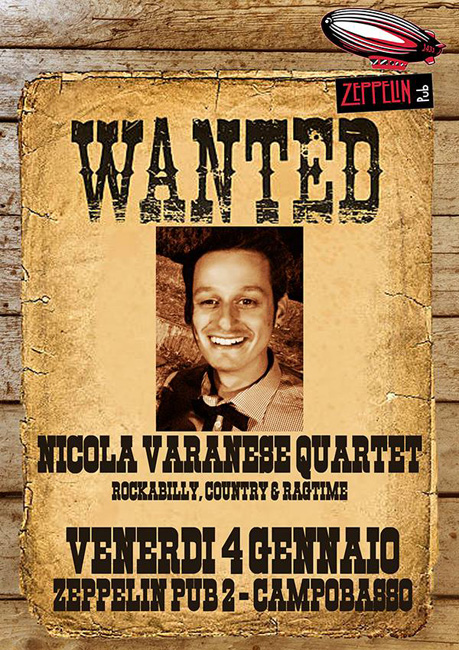 Nicola Varanese Quartet allo Zeppelin Pub 2 di Campobasso