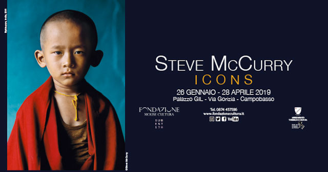 Mostra icons di steve mccurry a campobasso dove quando for Steve mccurry icons