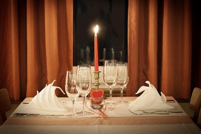 cena lume di candela