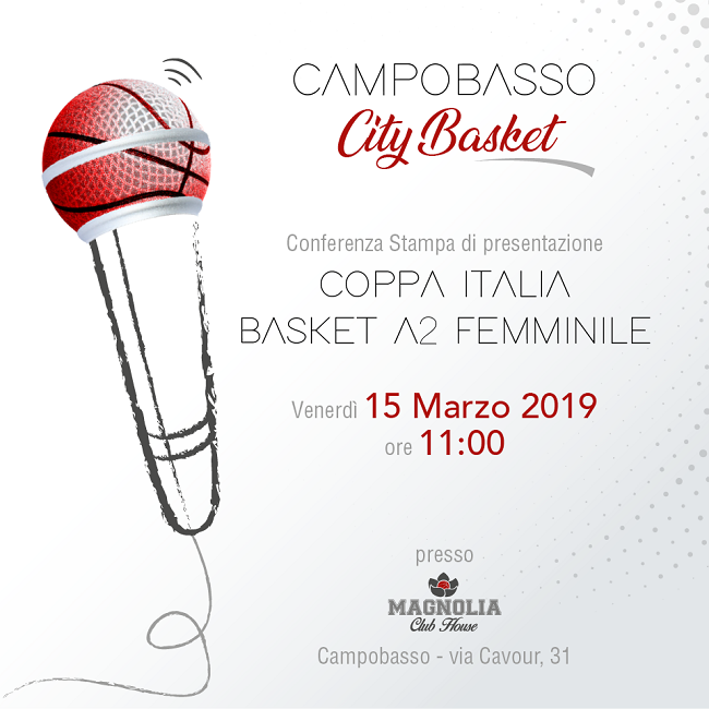campobasso city basket 15 marzo 2019