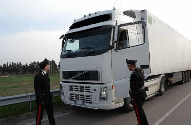 carabinieri auto articolato Venafro