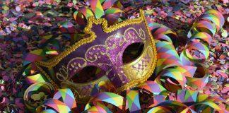 carnevale coriandoli maschera