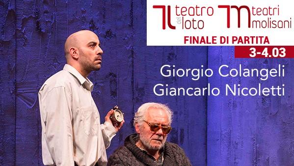Finale di Partita al Teatro del Loto di Ferrazzano