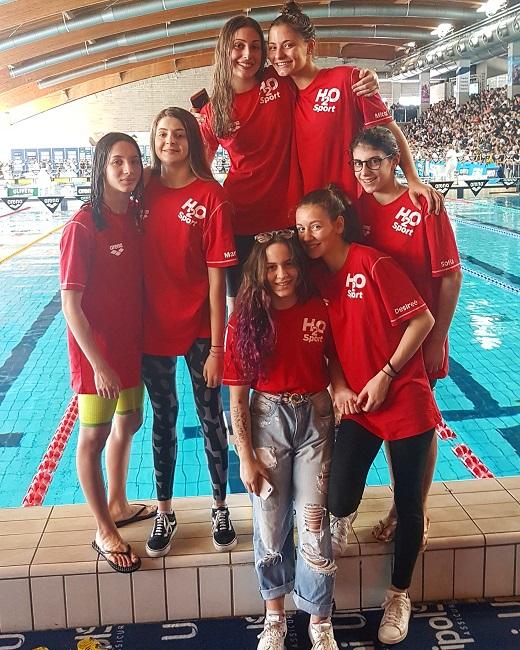 h2o sport gruppo ragazze