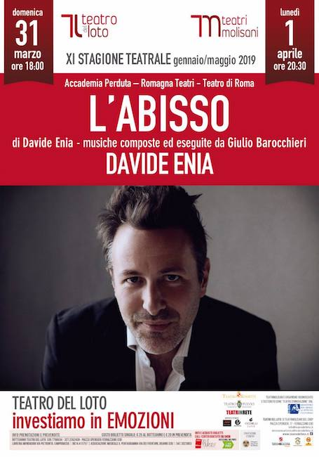l'abisso Davide Enia Ferrazzano