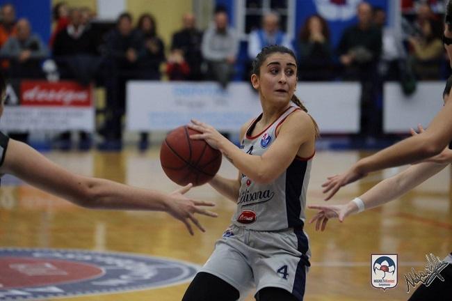 Rachele Porcu in azione