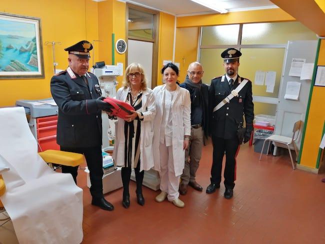 restituzione defibrillatore