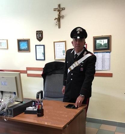 ritrovamento telefonino Carabinieri