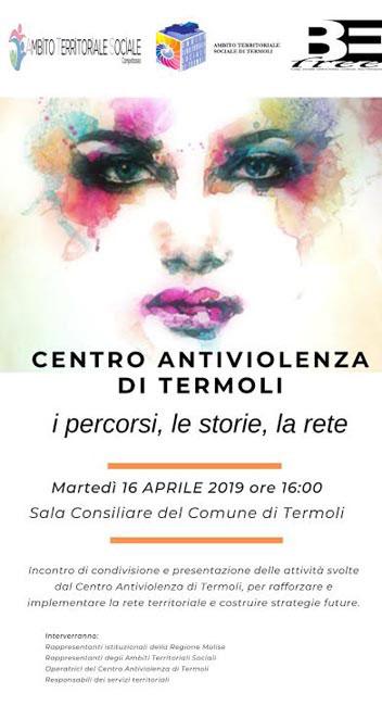 Termoli, presentazione del Centro Antiviolenza BeFree