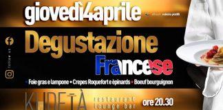degustazione francese 4 aprile 2019