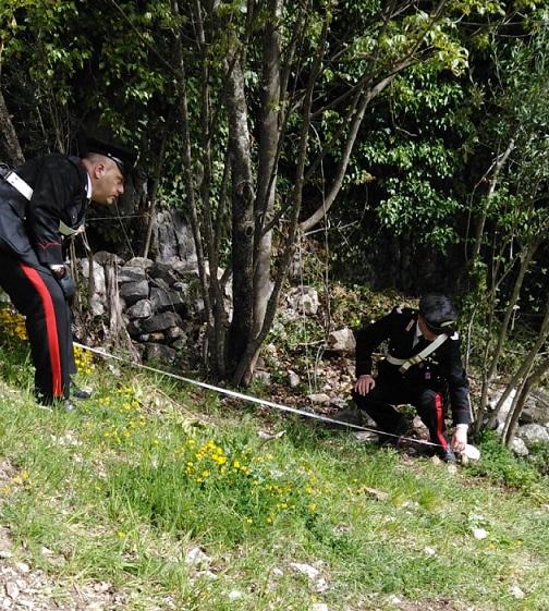 rilievi carabinieri