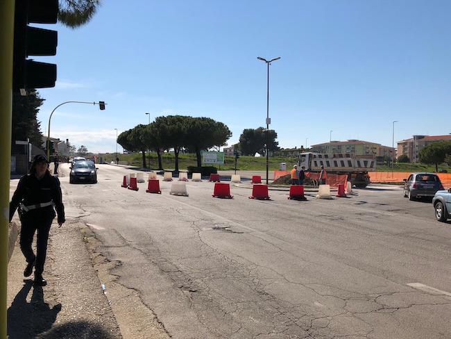 rotatoria piazza del Papa Termoli