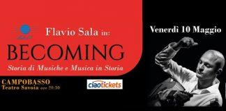 Flavio Sala in Becoming Campobasso 10 maggio 2019