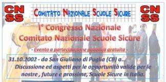 congresso scuole sicure 10 maggio 2019