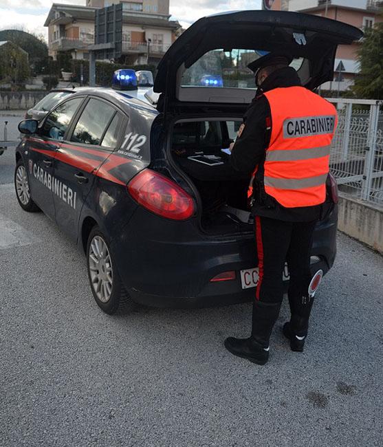 controlli auto Carabinieri