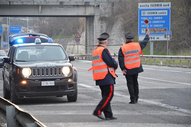 controlli isernia carabinieri