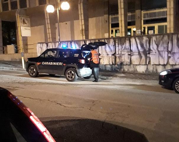 controlli notturni carabinieri