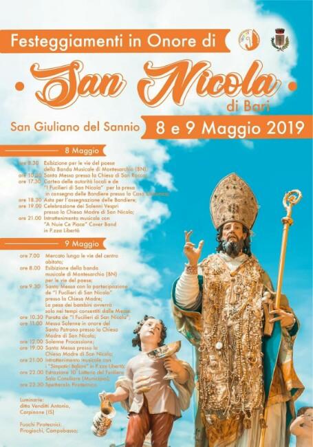 festa San Nicola 8 maggio 2019