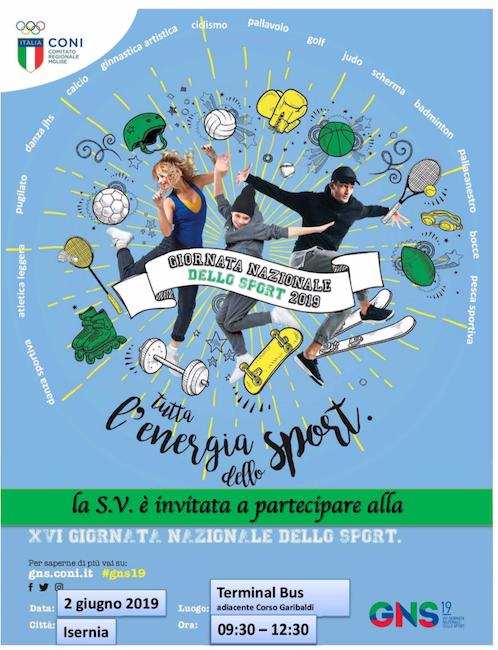 giornata nazionale dello sport Isernia 2019