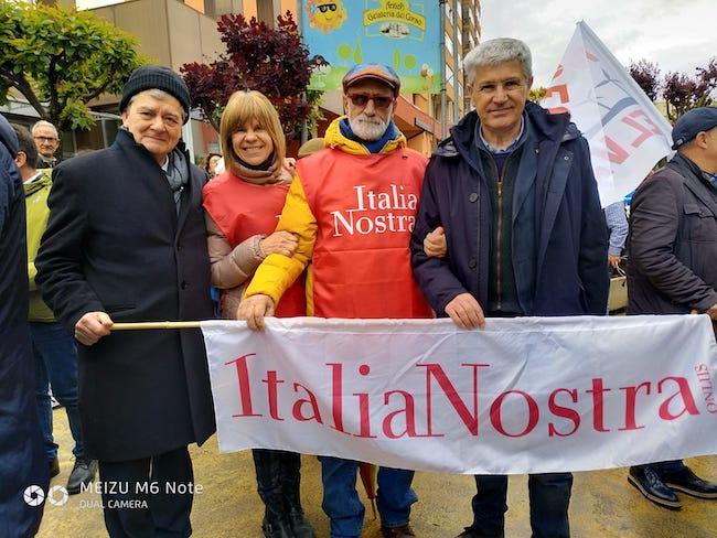 manifestazione italia nostra