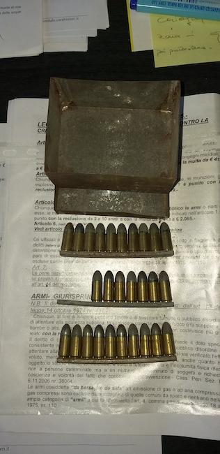 munizioni guerra forestali