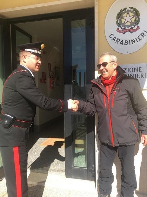 ringraziamento a Carabiniere