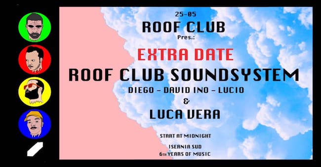 roof club 25 maggio 2019