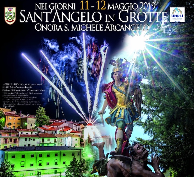 Sant'Angelo in Grotte onora S. Michele Arcangelo 2019