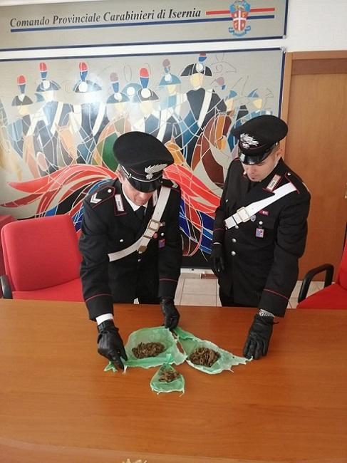 sequestro marijuana carabinieri