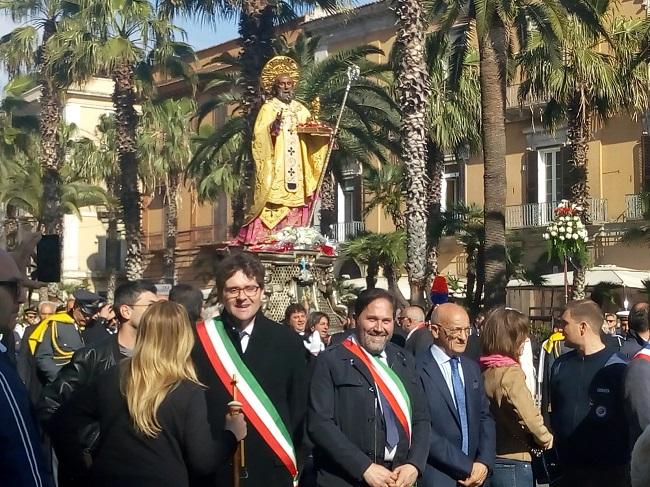 sindaco Guglionesi a Bari 8 maggio 2019