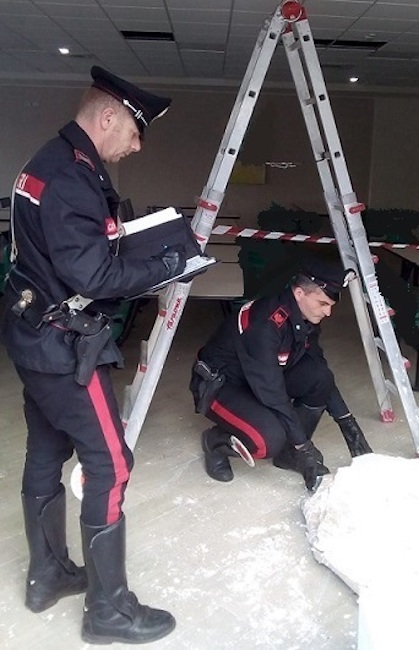 sopralluogo carabinieri