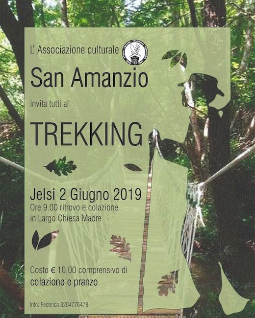 trekking naturalistico jelsi 2 giugno 2019