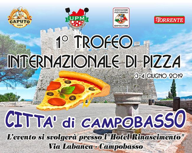 1 trofeo internazionale pizza