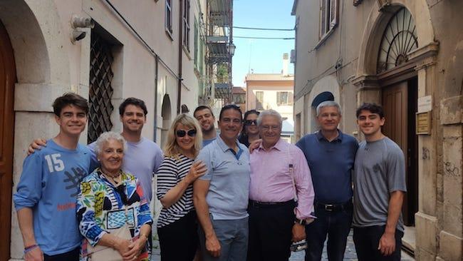 carlo francalangia foto di gruppo