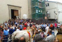 Montecilfone, sfilata carri di Sant'Antonio