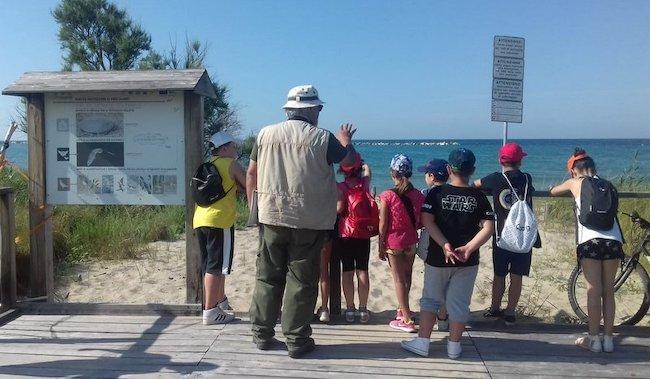 escursione scuola Campomarino