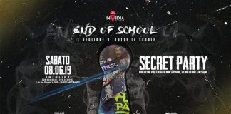 invidia end of school 8 giugno 2019