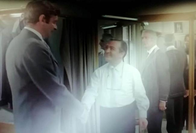 """La storia di Pasquale """"Pat"""" Silvestri un grande sarto a Manhattan"""