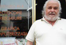 Antonio Litterio titolare tipografia omonima in Agnone del Molise - 11 luglio 2019