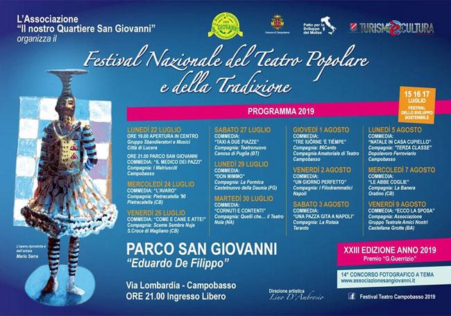 festival teatro popolare