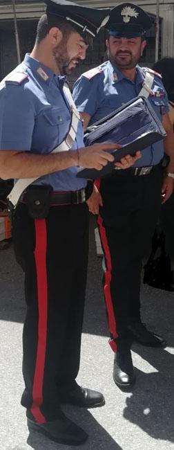 foto Carabinieri controlli