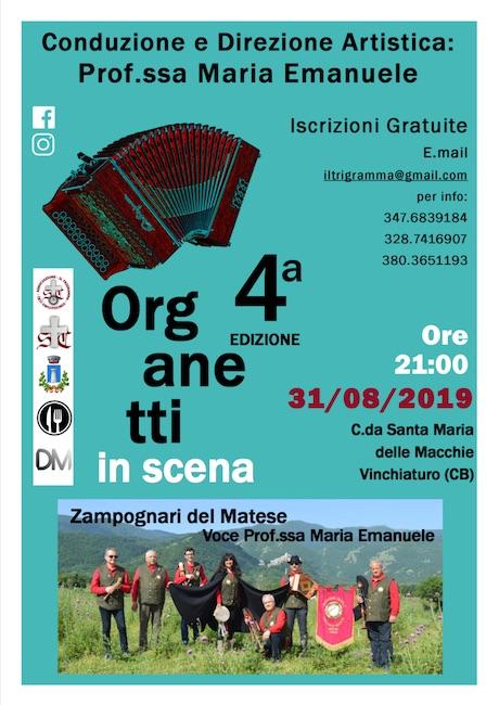 4° edizione organetti in scena