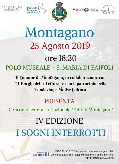 4° premio letterario Montagano