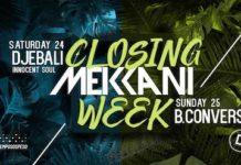 closing mekkani week