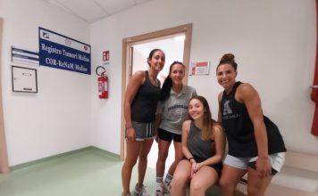 Da sinistra - Di Gregorio, Mancinelli, Del Bosco e Giardina