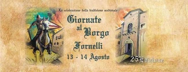 giornate al borgo 13-14 agosto 2019