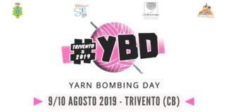Yarn Bombing Day 2019: a Trivento esposizione dell'uncinetto creativo
