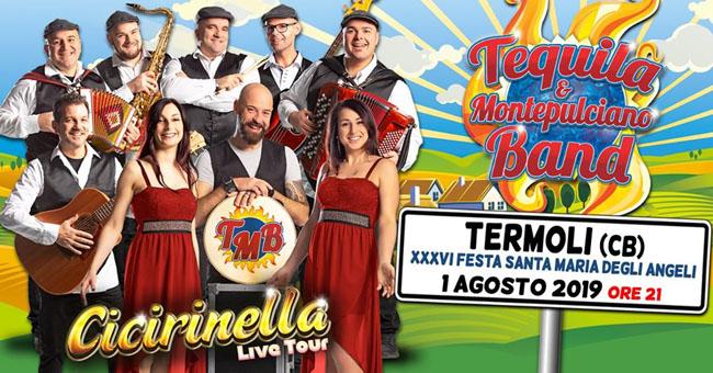 tequila & montepulciano band 1 agosto 2019