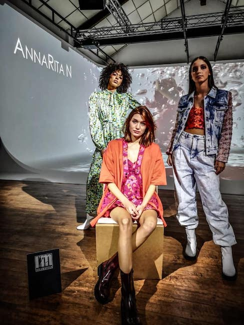 annaritan milano fashion show